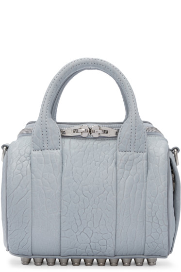 Alexander Wang - Blue Mini Rockie Bag
