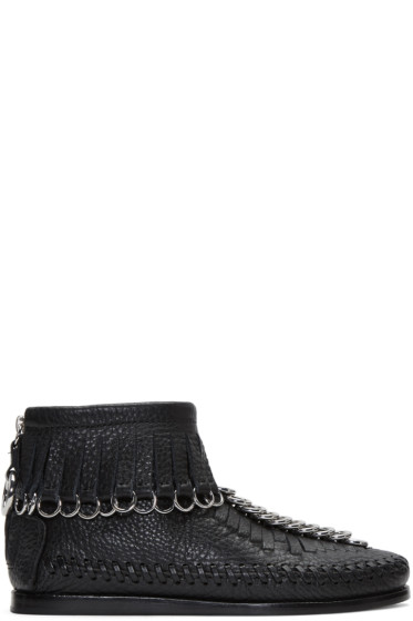 Alexander Wang - Black Montana Moccasin Boots