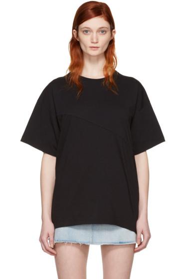 MM6 Maison Margiela - Black Reconstructed T-Shirt