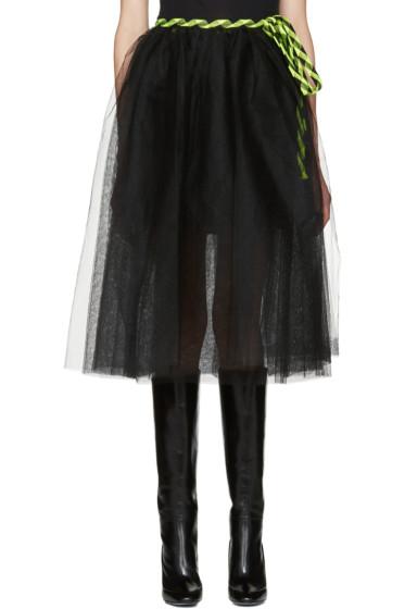 Marc Jacobs - Black Tulle Wrap Skirt