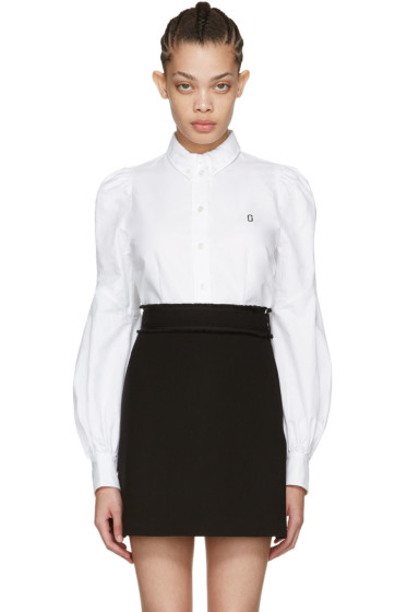 Marc Jacobs - White Bishop Sleeve Shirt