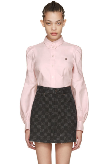 Marc Jacobs - Pink Bishop Sleeve Shirt