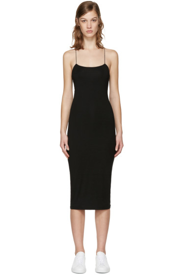T by Alexander Wang - Black Cut-Out Cami Dress