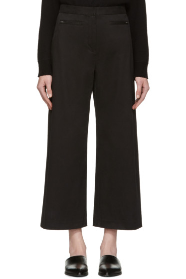 T by Alexander Wang - Black High-Waisted Culottes