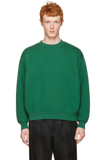 T by Alexander Wang - Green Oversized Pullover