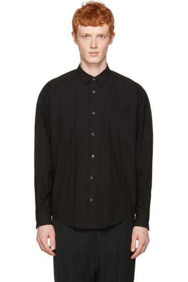 Robert Geller - Black Long Sleeve Shirt