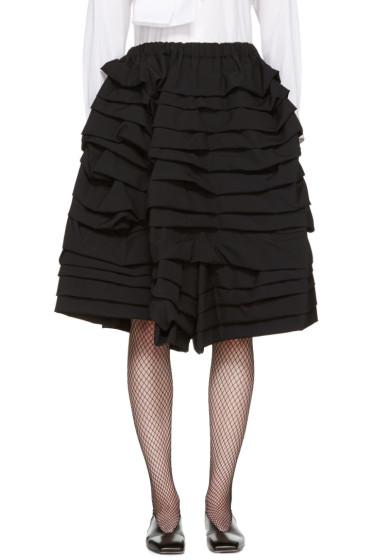 Comme des Garçons - Black Ruffle Shorts