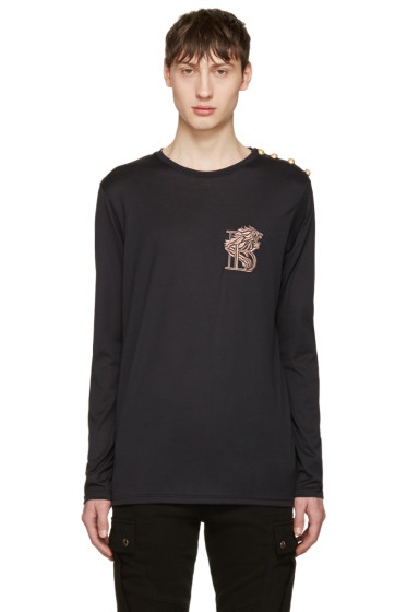 Balmain - Black Lion T-Shirt