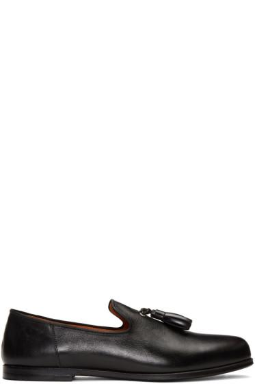Junya Watanabe - Black Tassel Loafers