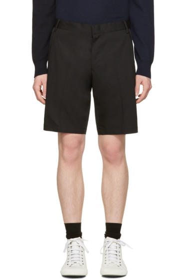 Lanvin - Black Slim Shorts