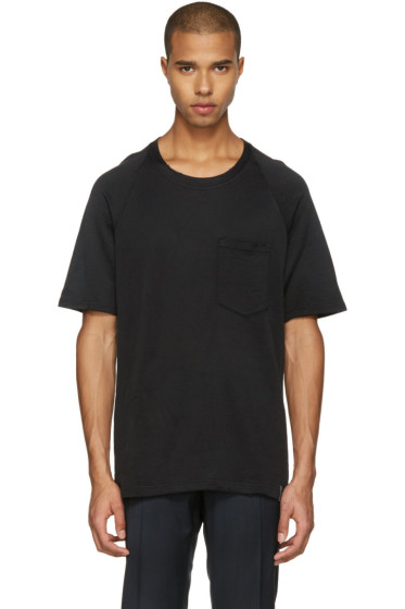 Lanvin - Black Worn T-Shirt