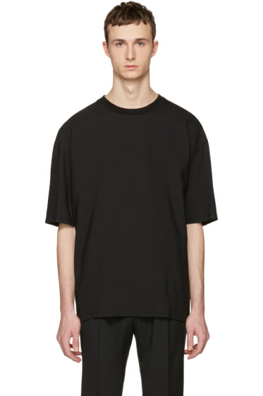 Lanvin - Black Oversized T-Shirt