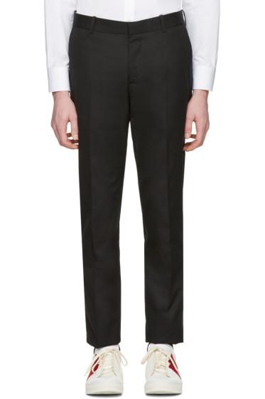 Alexander McQueen - Black Pleated Trousers
