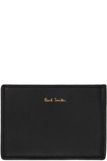 Paul Smith - Black Card Holder