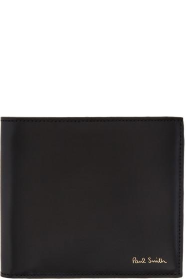 Paul Smith - Black Striped Wallet