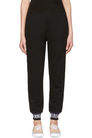 Opening Ceremony - Black Elastic Logo Lounge Pants