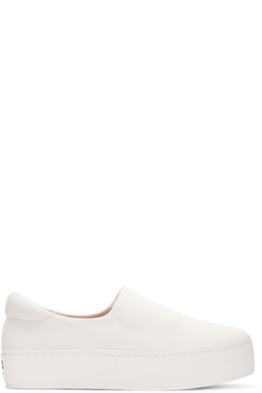 Opening Ceremony - Ivory Cici Slip-On Sneakers