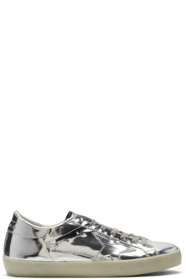Golden Goose - Silver Metal Superstar Sneakers