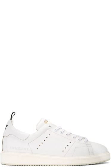 Golden Goose - White Starter Sneakers