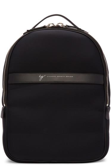 Giuseppe Zanotti - Black Savoca Backpack