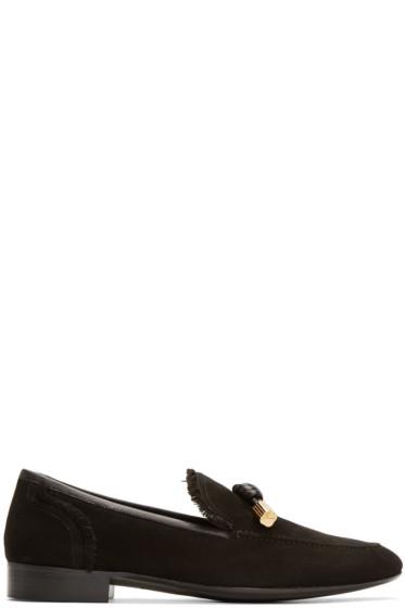 Giuseppe Zanotti - Black Cut 15 Loafers