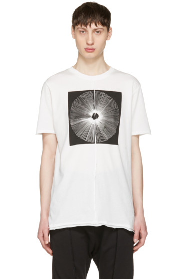 Damir Doma - White Tewes Crown T-Shirt