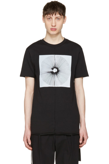 Damir Doma - Black Tewes Crown T-Shirt