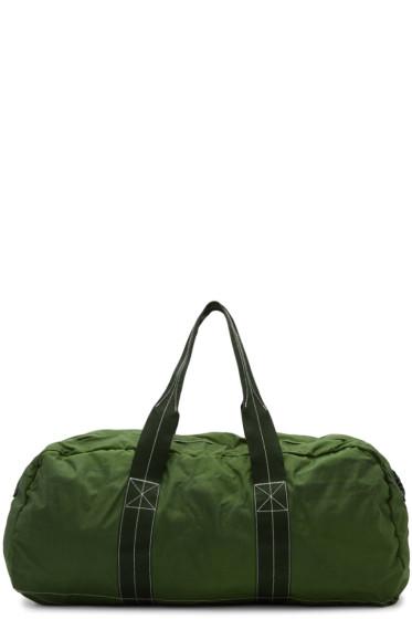 Comme des Garçons Shirt - Green Nylon Duffle Bag