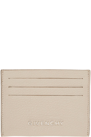 Givenchy - Beige Pandora Card Holder