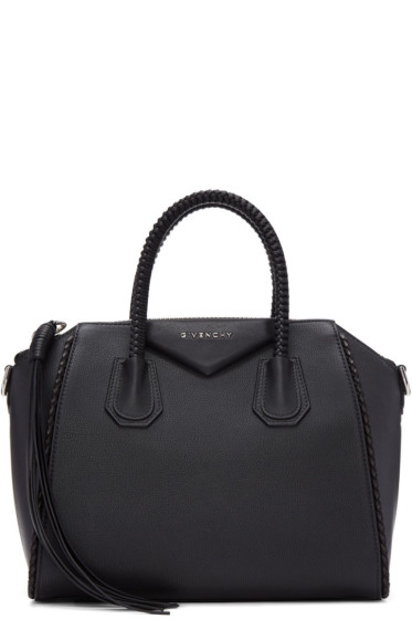 Givenchy - Black Small Braided Antigona Bag