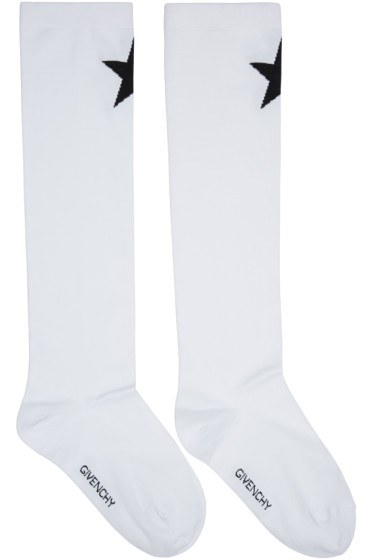 Givenchy - White Star Socks