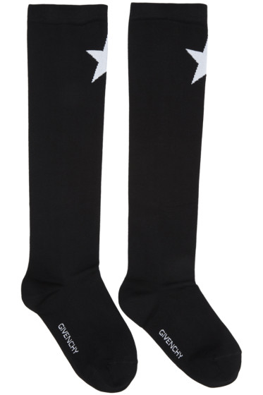 Givenchy - Black Star Socks