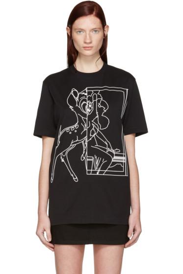 Givenchy - Black Bambi T-Shirt