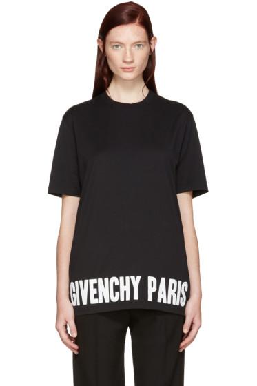Givenchy - Black Logo T-Shirt