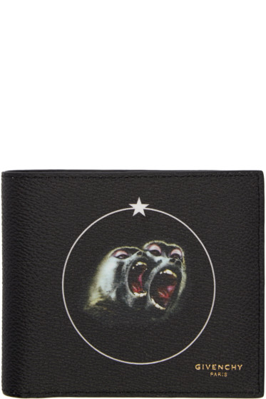 Givenchy - Black Monkey Brothers Wallet