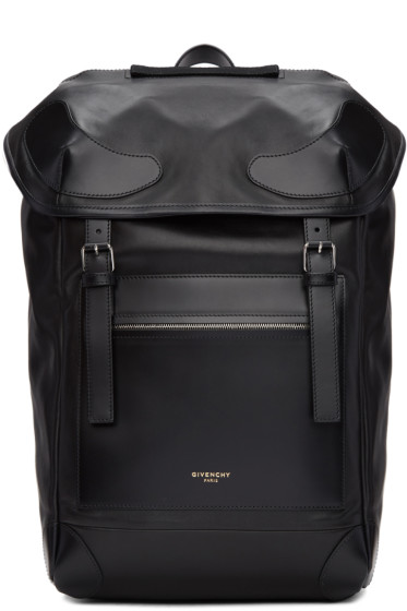 Givenchy - Black Leather Ride Backpack