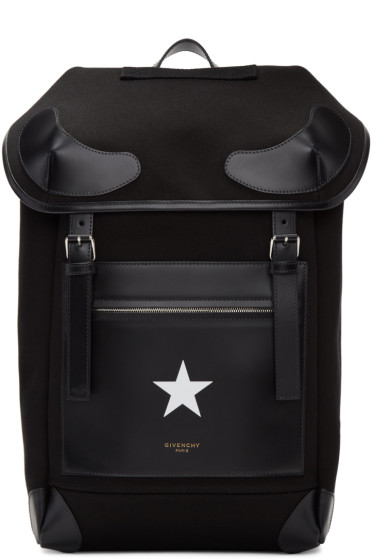 Givenchy - Black Ride Backpack