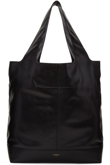 Givenchy - Black Leather Tote Bag