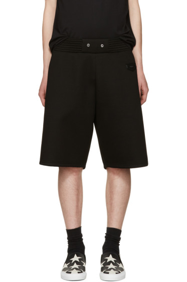 Givenchy - Black Neoprene Shorts