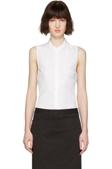 3.1 Phillip Lim - White Back Knot Shirt