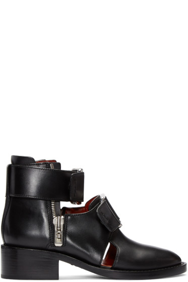 3.1 Phillip Lim - Black Addis Boots