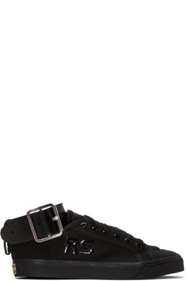 Raf Simons - Black adidas Originals Edition Spirit Buckle Sneakers