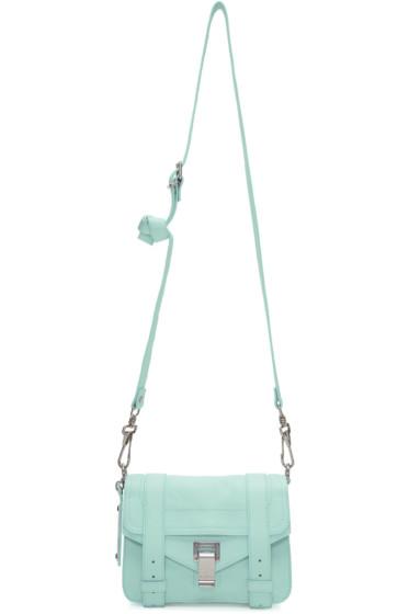 Proenza Schouler - Blue Mini PS1 Crossbody Bag