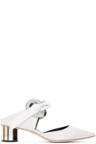 Proenza Schouler - White Ribbon Heels