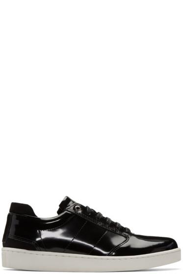 Want Les Essentiels - Black Patent Lennon Sneakers