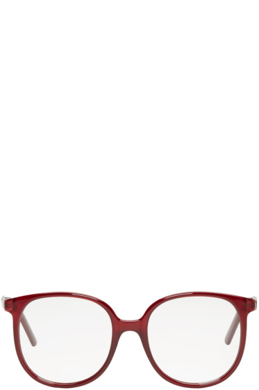 Chloé - Burgundy Round Glasses