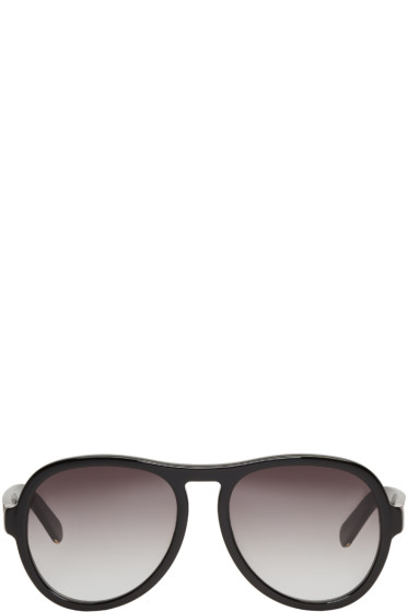 Chloé - Black Aviator Sunglasses