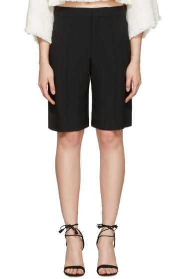 Chloé - Black Classic Cady Shorts
