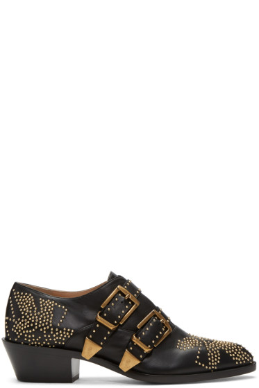 Chloé - Black Susanna Low Boots