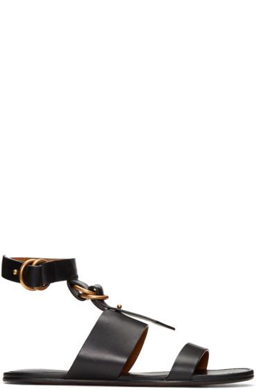 Chloé - Black Kingsley Sandals